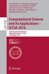 Computational Science and its Applications - ICCSA (ISBN: 9783319420912)