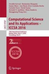 Computational Science and its Applications - ICCSA 2016 (ISBN: 9783319421070)