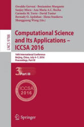 Computational Science and its Applications - ICCSA 2016 (ISBN: 9783319421100)