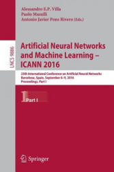 Artificial Neural Networks and Machine Learning - ICANN 2016 (ISBN: 9783319447773)