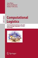 Computational Logistics (ISBN: 9783319448954)