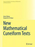 New Mathematical Cuneiform Texts (ISBN: 9783319445960)