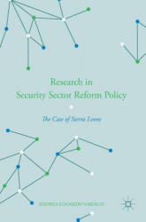 Research in Security Sector Reform Policy (ISBN: 9781137586742)