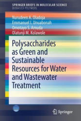 Polysaccharides as a Green and Sustainable Resources for Water and Wastewater Treatment (ISBN: 9783319565989)