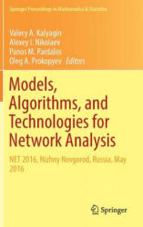 Models, Algorithms, and Technologies for Network Analysis - NET 2016, Nizhny Novgorod, Russia, May 2016 (ISBN: 9783319568287)