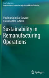 Sustainability in Remanufacturing Operations (ISBN: 9783319603537)