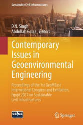 Contemporary Issues in Geoenvironmental Engineering - Proceedings of the 1st GeoMEast International Congress and Exhibition, Egypt 2017 on Sustainabl (ISBN: 9783319616117)