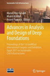 Advances in Analysis and Design of Deep Foundations (ISBN: 9783319616414)