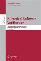 Numerical Software Verification - 10th International Workshop NSV 2017 Heidelberg Germany July 22-23 2017 Proceedings (ISBN: 9783319635002)