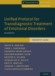 Unified Protocol for Transdiagnostic Treatment of Emotional Disorders - Therapist Guide (ISBN: 9780190685973)