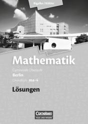 Grundkurs ma-4 - Qualifikationsphase - Lsungen zum Schlerbuch (ISBN: 9783060400102)