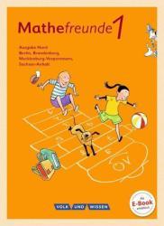 Mathefreunde 1. Schuljahr. Schlerbuch mit Kartonbeilagen. Nord (ISBN: 9783060837120)