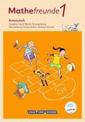 Mathefreunde 1. Schuljahr. Arbeitsheft. Nord (ISBN: 9783060837045)