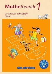 Mathefreunde 1. Schuljahr. Arbeitsheft A und B Inklusion Nord/Sd (ISBN: 9783060837366)
