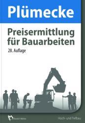 Plmecke - Preisermittlung fr Bauarbeiten (ISBN: 9783481032470)