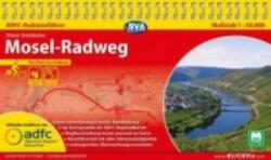 ADFC-Radreisefhrer Mosel-Radweg 1 : 50.000 (ISBN: 9783870736903)