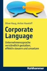 Corporate Language (ISBN: 9783170283480)