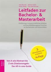 Leitfaden zur Bachelor- und Masterarbeit (ISBN: 9783828835344)