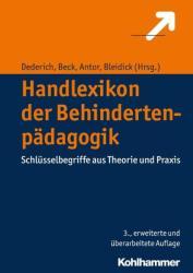 Handlexikon der Behindertenpdagogik (ISBN: 9783170299320)