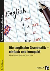 Die englische Grammatik - einfach und kompakt (ISBN: 9783403234753)