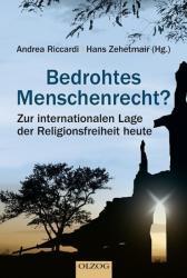Bedrohtes Menschenrecht? - Hans Zehetmair, Andrea Riccardi (ISBN: 9783957680365)