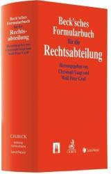 Beck'sches Formularbuch fr die Rechtsabteilung (ISBN: 9783406691683)