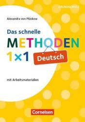 Das schnelle Methoden-1x1 Deutsch (ISBN: 9783589157624)