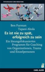 Es ist nie zu spt, erfolgreich zu sein (ISBN: 9783849701321)