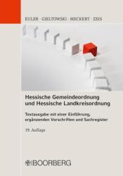 Hessische Gemeindeordnung und Hessische Landkreisordnung (ISBN: 9783415057203)