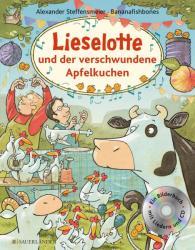 Lieselotte und der verschwundene Apfelkuchen. Buch mit CD (ISBN: 9783737350105)