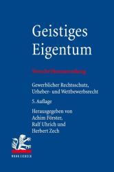 Geistiges Eigentum (ISBN: 9783161543944)