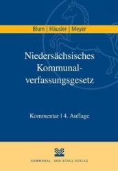 Niederschsisches Kommunalverfassungsgesetz (ISBN: 9783829312547)