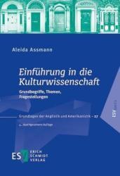 Einfhrung in die Kulturwissenschaft (ISBN: 9783503171415)