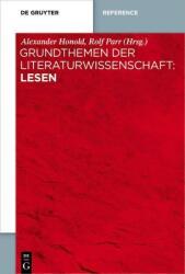 Grundthemen der Literaturwissenschaft: Lesen (ISBN: 9783110364675)