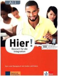 Hier! A1.1. Kurs- und bungsbuch mit Audios und Videos (ISBN: 9783126766807)