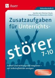 Zusatzaufgaben fr Unterrichtsstrer 7-10 (ISBN: 9783403078210)