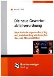 Die neue Gewerbeabfallverordnung (ISBN: 9783846208229)