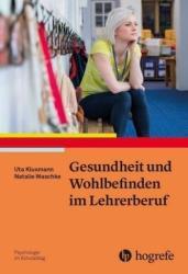 Gesundheit und Wohlbefinden im Lehrerberuf (ISBN: 9783801728632)