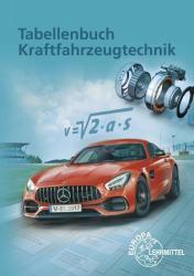 Tabellenbuch Kraftfahrzeugtechnik (ISBN: 9783808521373)