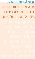 Zaitenklnge (ISBN: 9783957575678)