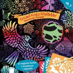 Spannende Tierwelt. Krickel-Kratz-Malbilder (ISBN: 9783401712291)