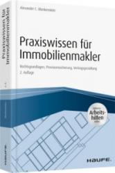 Praxiswissen fr Immobilienmakler - inkl. Arbeitshilfen online (ISBN: 9783648111734)