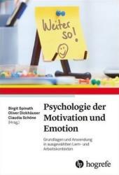 Psychologie der Motivation und Emotion (ISBN: 9783801728762)