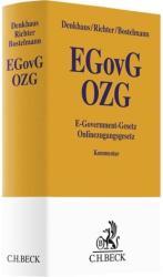 E-Government-Gesetz/Onlinezugangsgesetz (ISBN: 9783406724138)
