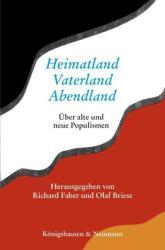 Heimatland - Vaterland - Abendland (ISBN: 9783826064562)