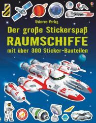 Der groe Stickerspa: Raumschiffe (ISBN: 9781782328346)