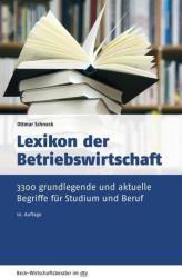 Lexikon der Betriebswirtschaft (ISBN: 9783423509626)