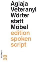 Wrter statt Mbel (ISBN: 9783038530831)