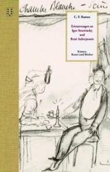 Erinnerungen an Igor Strawinsky und Ren Auberjonoins (ISBN: 9783038500544)