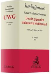 Gesetz gegen den unlauteren Wettbewerb (ISBN: 9783406726224)
